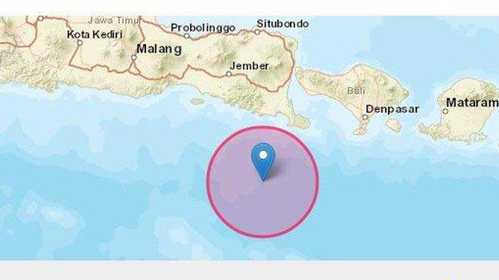 Gempa Bumi Tadi Pagi Jumat (30/4/2021) 5.1 SR, BMKG Imbau Potensi Gempa Susulan, Ini Titik Lokasinya