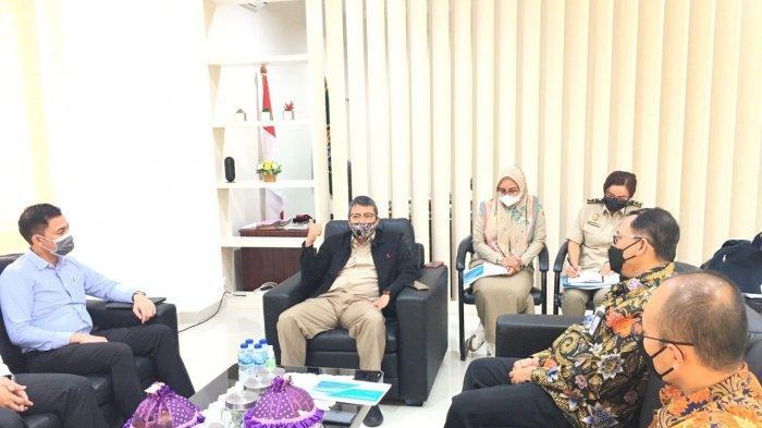 General Manager PLN UIW Suluttenggo bersama dengan jajarannya menyambangi Kantor Badan Pertanahan Nasional Sulawesi Tengah untuk berdiskusi serta bersilaturahmi.