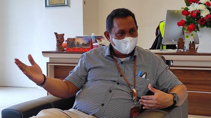 Bersua GM PT AP I Bandara Samrat Manado, Minggus Gandeguai, Optimis di Tengah Pandemi Covid-19