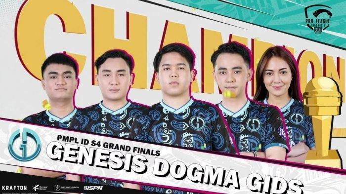 Player Asal Manado dari Tim Genesis Dogma GIDS Wakili Indonesia di KejuaraanPUBGMobileDunia