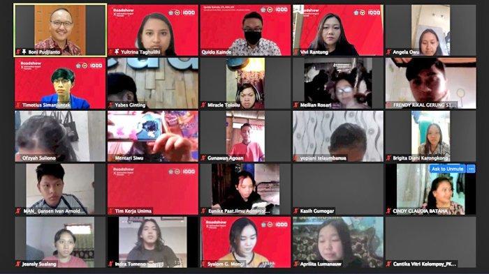 Gerakan Nasional 1000 Startup Kemkominfo RI Sukses Digelar di Unima, Diikuti 2000 Pendaftar