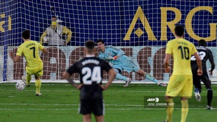 Real Madrid Sempat Ungguli Villarreal, Gol Titik Putih Gagalkan Kemenangan, Hasil Liga Spanyol