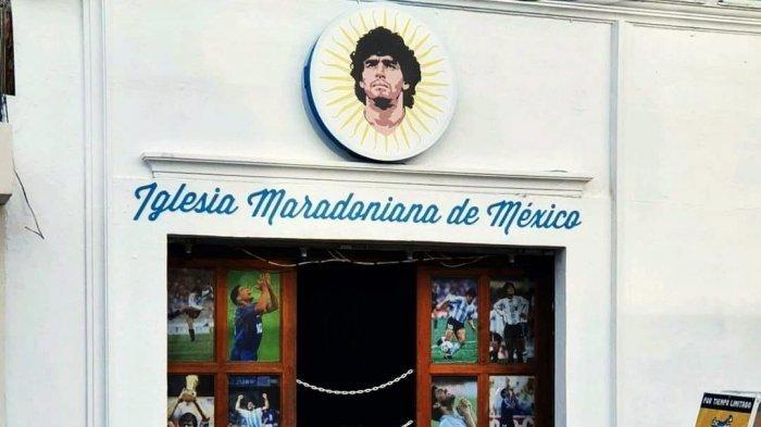 Gereja Maradona Pertama Dibuka di Meksiko, Punya Hari Paskah Tersendiri