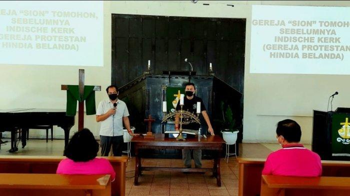 Berkunjung ke Gereja Sion Tomohon Sekaligus Dapat Pengetahuan Sejarah