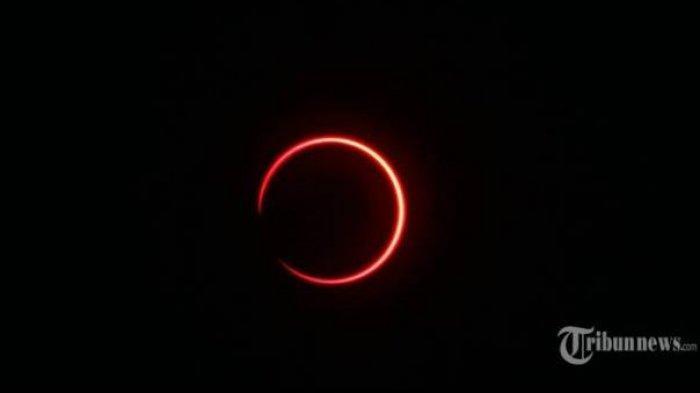 Gerhana Matahari Cincin Kamis 10 Juni 2021