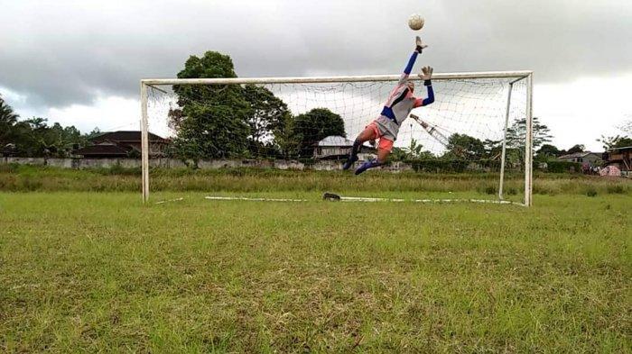 Geril Kapoh Kiper Lokal Bakal Bergabung Bersama Sulut United