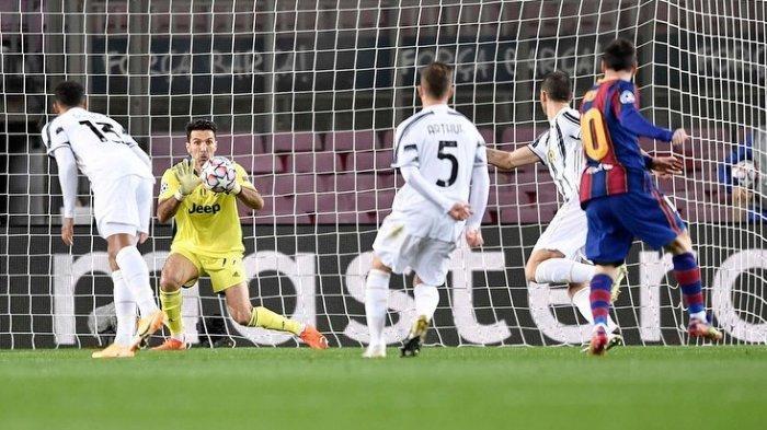 Gianluigi Buffon berhasil mengamankan gawang Juventus.