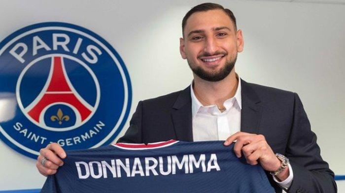 Gianluigi Donnarumma resmi bergabung dengan klub asal Prancis, Paris Saint Germain.