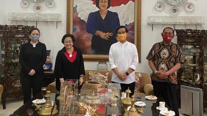 Bertemu Megawati, Gibran: Ngobrol Ringan karena Sudah Lama Nggak Silaturahim