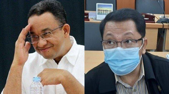Gilbert Simanjuntak Politisi PDIP dan Anies Baswedan