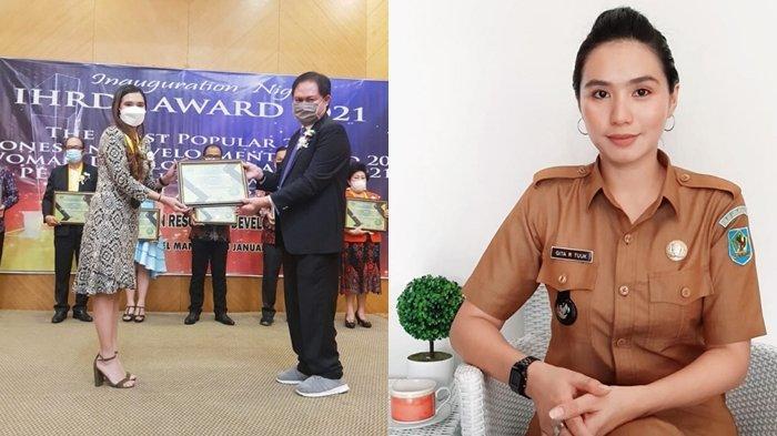 Kepala Desa Tercantik di Indonesia Asal Bolmong, Gita Ratnasari Tuuk, Raih Penghargaan International