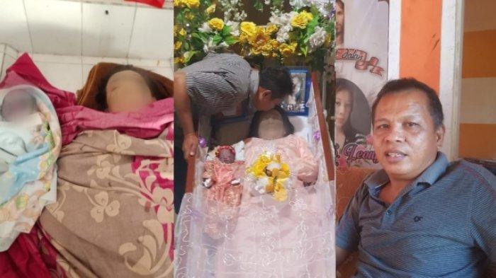 Curahan Hati Suami Gladis Leong yang Meninggal Melahirkan Sendirian Anak Kembar: Dia Wanita Kuat