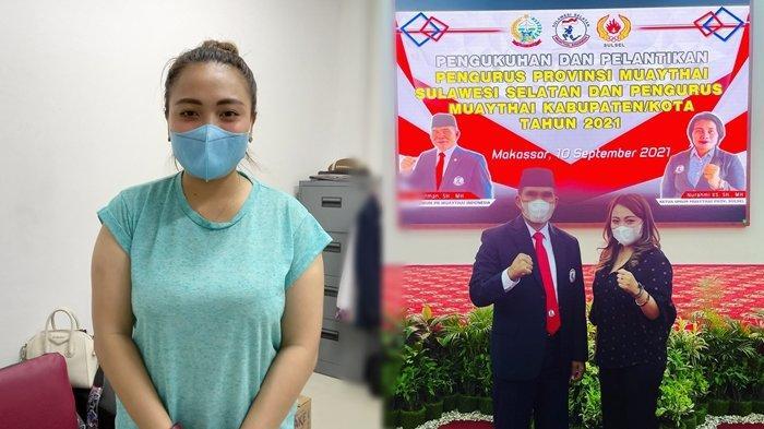SosokGladis Mangundap Ketua Umum Muaythai Sulut, Janjikan Kesejahteraan Pelatih dan Atlet