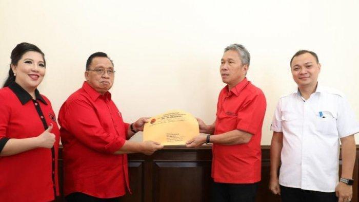 Glady Kandouw Sah Ketua DPRD Minahasa