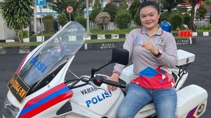 Sosok Glenda Lapian, Polwan Asal Sulut Berbagi Cerita Perjuangannya hingga Bisa Jadi Polisi Wanita