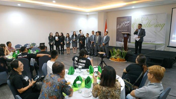 Grand Whiz Manado Apresiasi Puluhan Jurnalis dalam Media Gathering