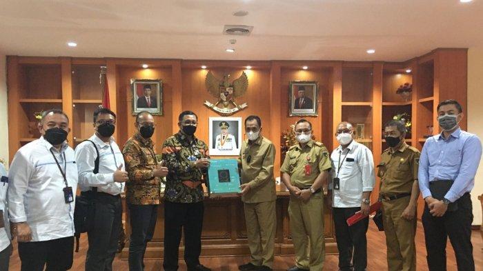GM PLN Suluttenggo Temui Wakil Gubernur Sulteng,Bahasa Progres Pembangunan Infrastruktur Kelistrikan