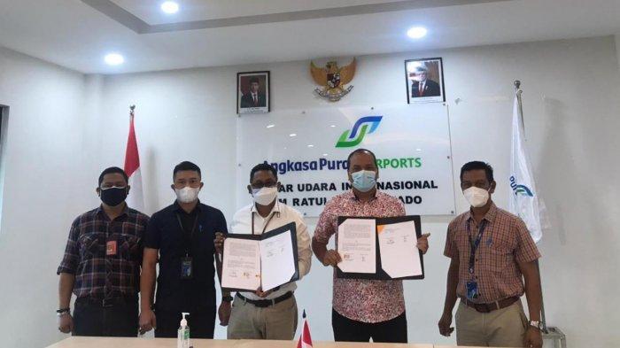 Bandara Samrat Manado Teken MoU Peningkatan Pelayanan dan Keamanan