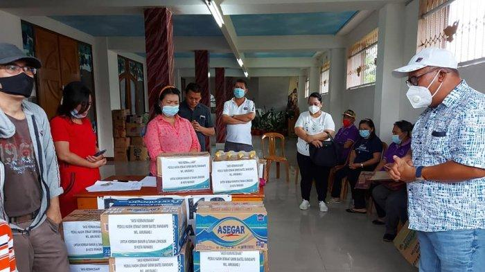 GMIM Baitel Ranoiapo Amurang Bawa Bantuan untuk Korban Bencana di Kota Manado