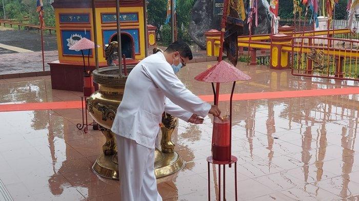 Ritual Suci Goan Siau Klenteng Seng Bo Kiong  tak Direstui