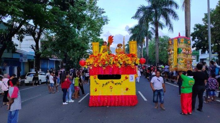 Seperti Ini Cap Go Meh di Klenteng Seng Bo Kiong, Ada Perpaduan Adat dan Budaya Minahasa