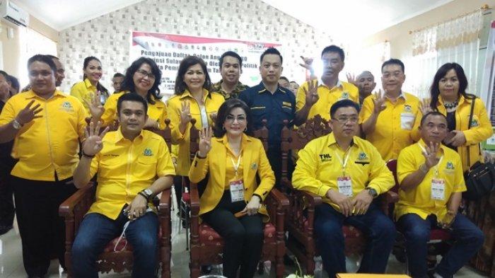 Kejar Target Pileg 2019, Golkar Sulut Perkuat Konsolidasi