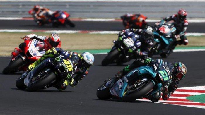 Hasil GP San Marino dan Klasemen Terbaru MotoGP 2020, Rossi Dipecundangi dan Dipepet Muridnya
