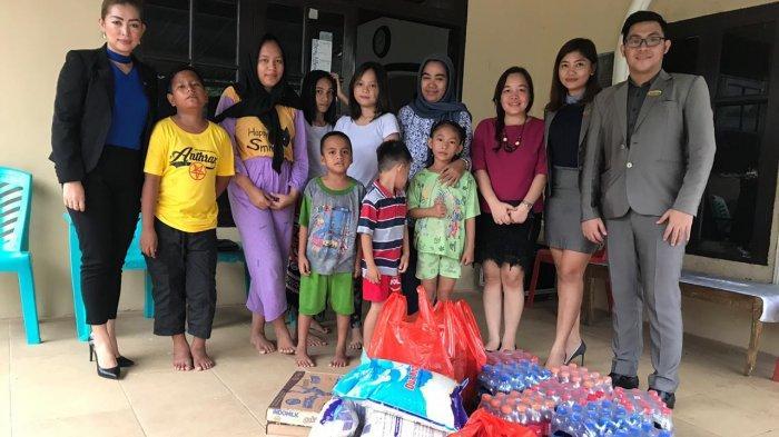 Gran Puri Manado Berbagi Berkah Ramadan ke Yatim Piatu