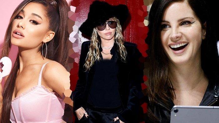 Kolaborasi Untuk Film Charlie's Angel, Ariana Grande, Miley Cyrus & Lana Del Rey Tampil Bak Malaikat