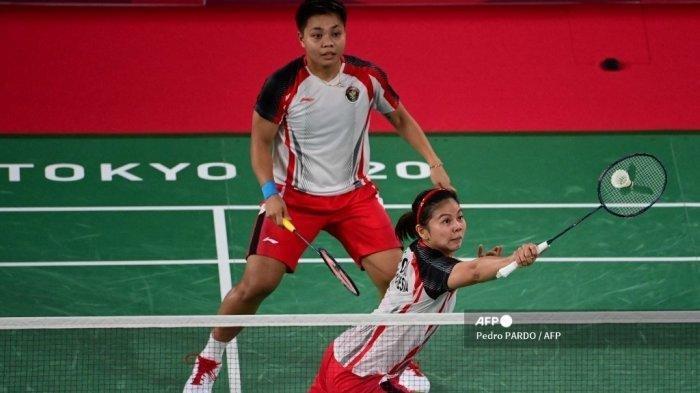 Jadwal Final Bulutangkis Olimpiade Tokyo, Greysia Polii/Apriyani Rahayu vs Chen Qing Chen/Jia Yi Fan