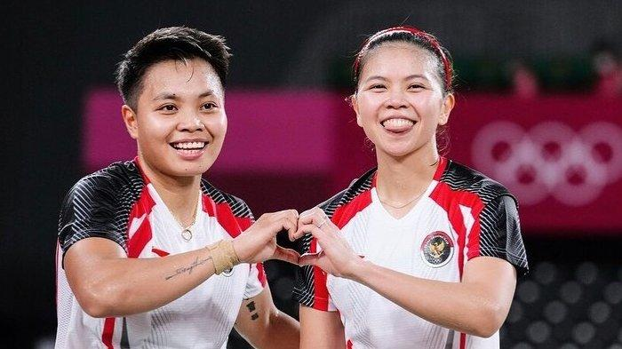 Jadwal Final Bulutangkis Olimpiade 2020 Hari Ini, Greysia Polii/Apriyani Rahayu & Anthony Ginting