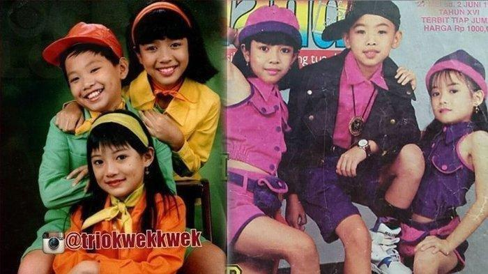 Ingat Trio Kwek Kwek? Dulu Tenar Majukan Lagu Anak, Tapi Bubar 2001, Ini Kabar Personilnya Sekarang