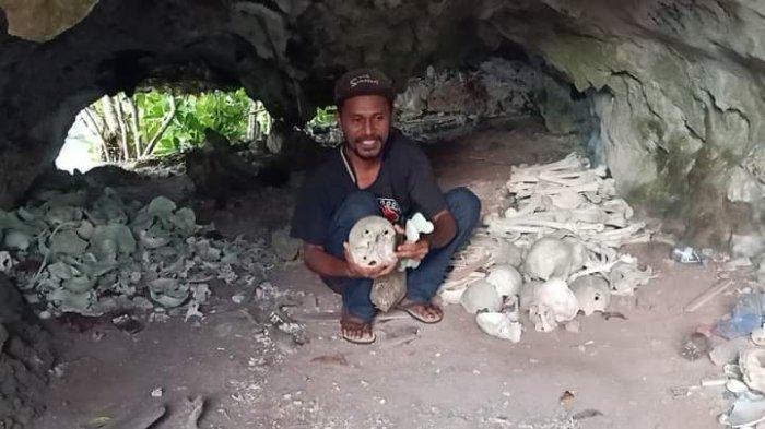 Mengunjungi Gua Tengkorak Totombatu di Talaud, Diyakini Asal Muasal Suku Talaud