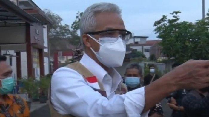 Gubenur Ganjar Pranowo Adu Mulut dengan Pemuda Positif Corona yang Tak Pakai Masker: 'Hak Saya Pak'