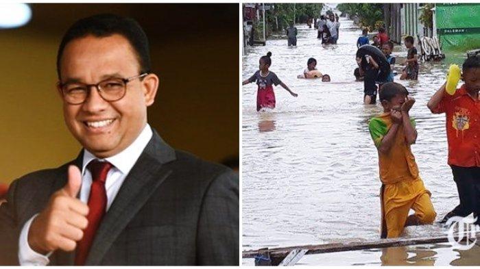 Gubernur Anies Baswedan Sebut Anak-anak Senang Bermain Banjir: Mau Berenang Katanya