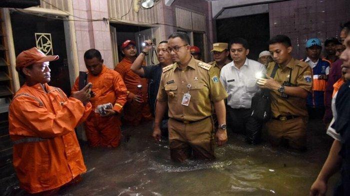 Jakarta Dilanda Banjir, Janji Anies Baswedan Dipertanyakan, PDIP: Pak Anies Tidak Melakukan Apa-apa