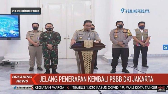 Aturan Lengkap PSBB Total DKI Jakarta yang Diterapkan Mulai 14 September Hari Ini, Sanksinya Berat