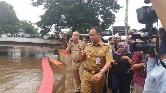 Anies Baswedan Ungkap Penyebab Banjir DKI Jakarta: Ada Penambahan Debit Air dari Jawa Barat