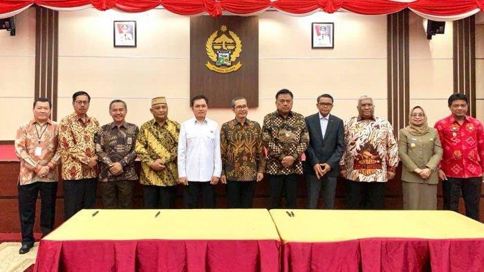 Gubernur Olly Teken MoU dengan BPH Migas dan Pertamina, Optimalisasi Pendapatan Daerah