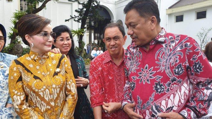 Gubernur Olly dan Bupati Tetty Bertemu Presiden Jokowi di Istana Negara