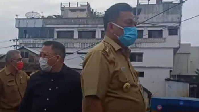 Gubernur Olly Dondokambey Sambangi Jembatan Miangas,Tinjau Normalisasi DAS Tondano