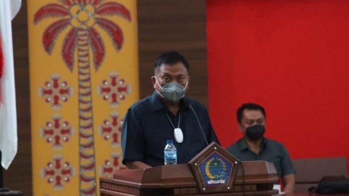 Gubernur Olly Dondokambey Ajukan Perubahan APBD 2021, Pendapatan Naik Jadi Rp 4,09 triliun