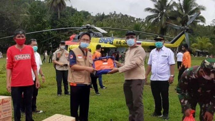 Gubernur Olly Dondokambey Gerak Cepat Salurkan Bantuan Untuk Korban Banjir di Kabupaten Sangihe