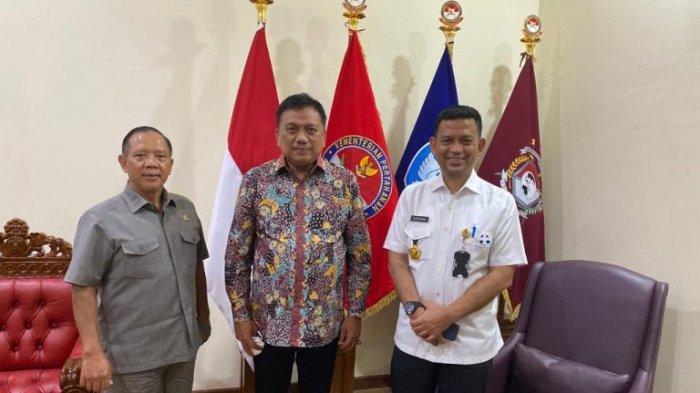 Gubernur Olly Dondokambey Kunjungi Universitas Pertahanan, Perkuat Jalinan Kerja Sama