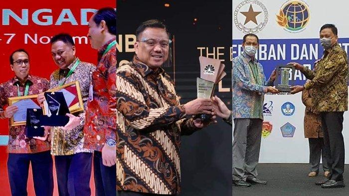 Gubernur Olly Dondokambey 'Panen' Penghargaan di 2020, Berikut Daftar Koleksi 5 Awards Bergengsi
