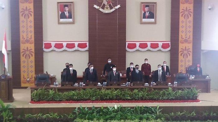 Gubernur Olly Dondokambey Pidato Perdana di DPRD Sulut Usai Pelantikan