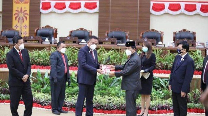 Gubernur Olly Dondokambey Pidato Perdana Usai Dilantik, Optimistis Jalankan Tugas