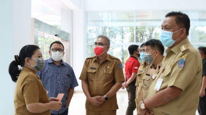 Gubernur Olly Dondokambey Tinjau Kesiapan Operasional RSUD Sulut dan RS Mata