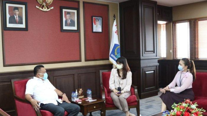 Gubernur Olly Gandeng Garuda Indonesia, Lanjutkan Rute Ekspor ke Jepang dan Incar Pasar Cina