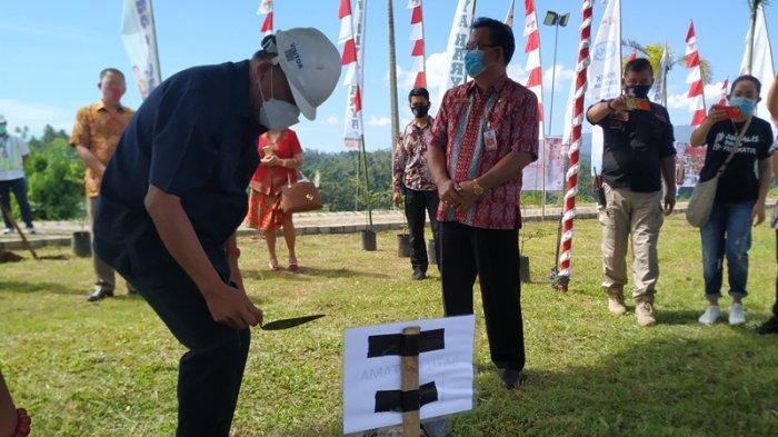 Gubernur Olly Letakkan Batu Pertama Taman Wisata Waruga Kuwil, Telan Anggaran Rp 33 Miliar
